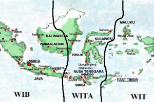 Letak Astronomis Negara Indonesia Dan 3 Pembagian Waktu Di Indonesia