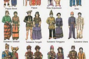 Foto Baju Adat Daerah Di Indonesia Daftar Lengkap Nama Gambar Dan Asal Pakaian Adat Di Indonesia