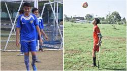 Kehilangan Satu Kaki Tak Halangi Aditya Main Bola. Kini Ia Siap Bela Indonesia di Kancah Dunia