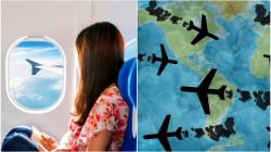 Naik Pesawat Ternyata Turut Memperpendek Usia Bumi. Yang Hobi Traveling, Coba Lebih Hati-hati~