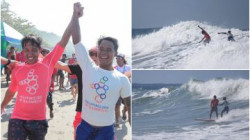 Lepas Medali Emas, Peselancar Filipina Pilih Selamatkan Atlet Indonesia yang Tergulung Ombak
