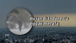 Musim Hujan Memang Sudah Tiba, Tapi Hujan di Indonesia Belum Juga Merata. BMKG Ungkap Alasannya