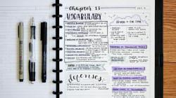 7 Trik Bikin Catatan Estetik ala Studyblr. Lebih Enak Dibaca, Belajar Pun Makin Semangat