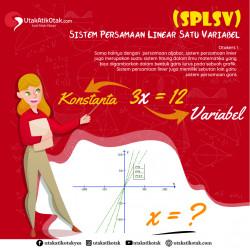 Sistem Persamaan Linear Satu Variabel