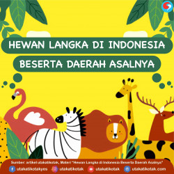 Hewan Langka di Indonesia Beserta daerah Asalnya