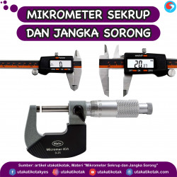 Mikrometer Sekrup dan Jangka Sorong