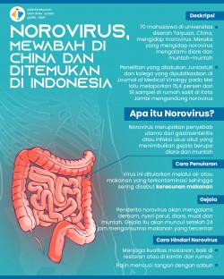 Masuk Indonesia, Berikut 7 Fakta Norovirus yang Sebabkan Radang Perut