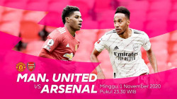 Link Streaming Siaran Langsung MU vs Arsenal