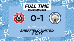 Sheffield United vs Man City 0-1, Kyle Walker Jadi Penentu Kemenangan