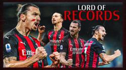 Gol Ibra saat Napoli vs AC Milan Menyamai Rekor 3 Pemain di Serie A