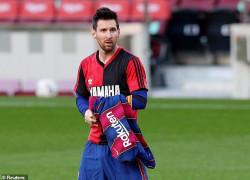 Lionel Messi Didenda Rp 10 Juta Gara-gara Selebrasi Jersey Diego Maradona