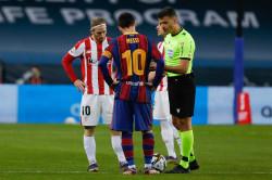 Kartu Merah Karena Memukul Striker Athletic Club, Potensi Hukuman Lionel Messi 4-12 Pertandingan