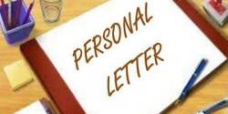 Personal Letter (Penjelasan dan Contoh)