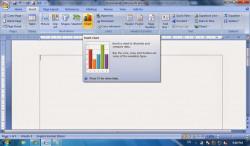 Cara Menyisipkan Tabel, WordArt, Chart Pada Microsoft Word